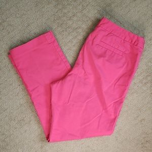 ELLEN TRACY | Coral Pink Tailored Trouser Pants 10